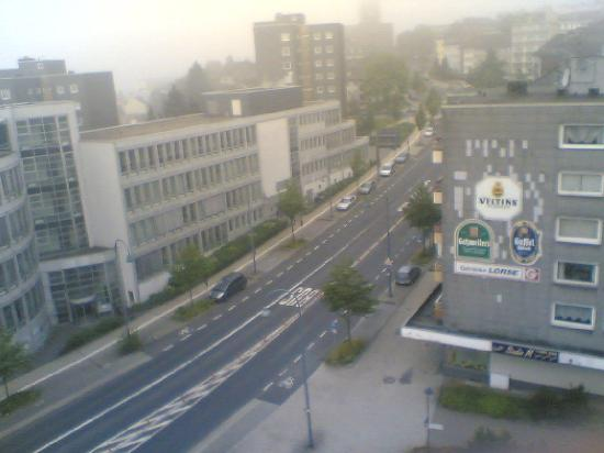 MK Hotel Remscheid: A view from the room's window