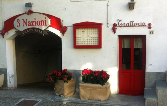 Limone Piemonte, Italie : Trattoria 3 Nazioni