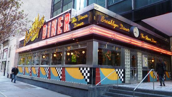 west 57th street diner picture of brooklyn diner new york city tripadvisor. Black Bedroom Furniture Sets. Home Design Ideas