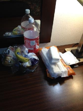 Super 8 Danville: Food Left From Prior Guest