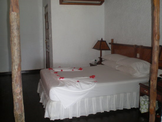 Makunudu Island: Bed