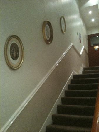 Westbury Hotel Kensington: escalier