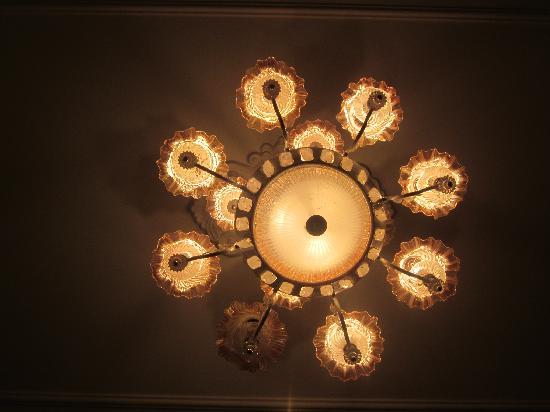 Jade Hotel: lamp