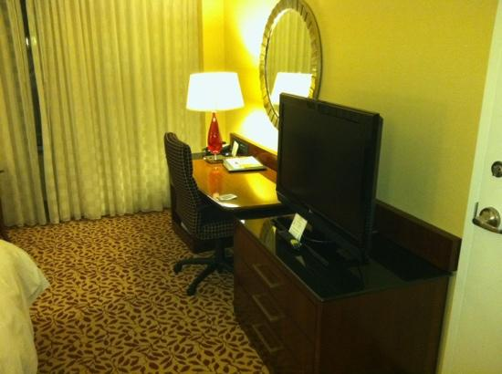 Bethesda North Marriott Hotel & Conference Center: work area
