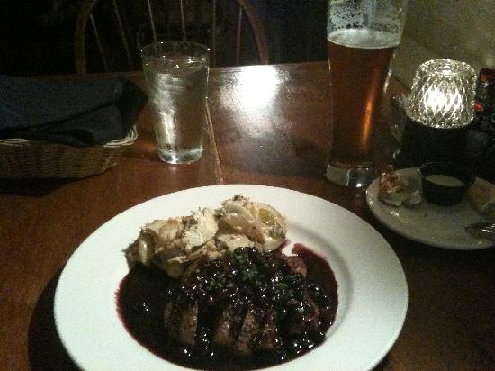 Abingdon, VA: Duck with Blueberry Sauce