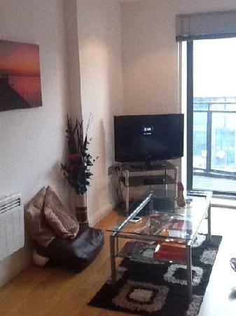 Entrada Apartments: drawing room