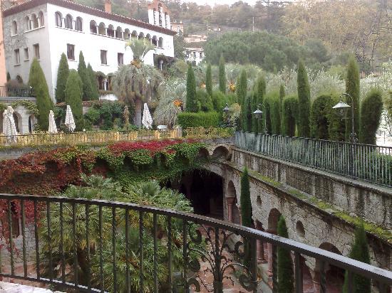 Le Grand Hotel: Vue sur les thermes