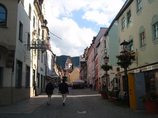 Altstadt von Fuessen: calle