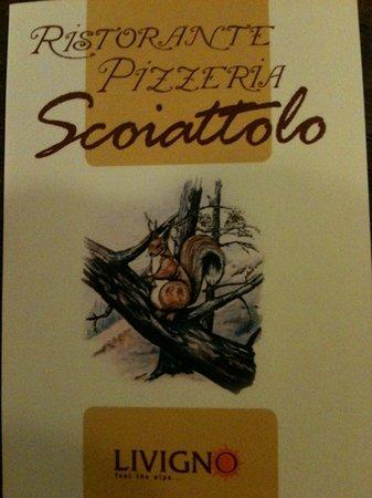 L'Osteria dello Scoiattolo: lo scoiattolo livigno ristorante pizzeria molto bello
