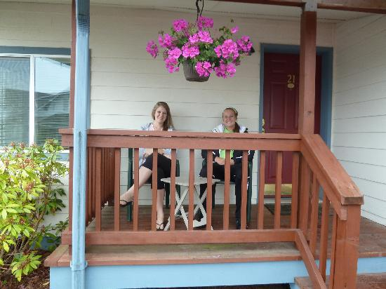 Seaquest Motel : Our porch