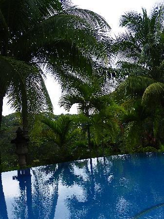 Hotel Cuna del Angel: Vistas desde la piscina