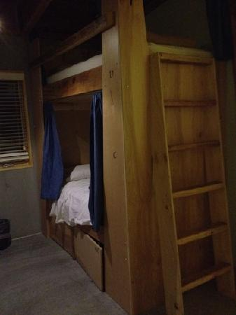 The Crash Pad: An Uncommon Hostel: one of the bunks