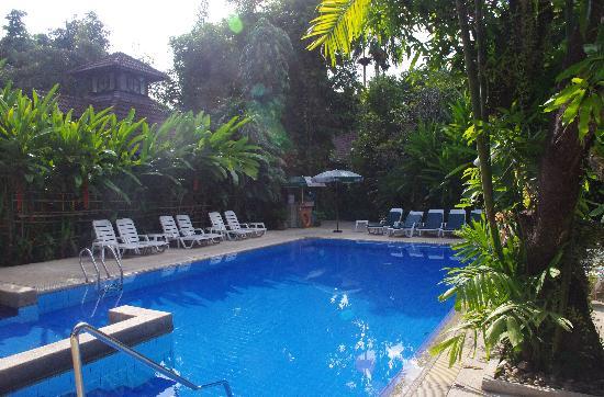 โรงแรมยูเรเซีย เชียงใหม่: piscine