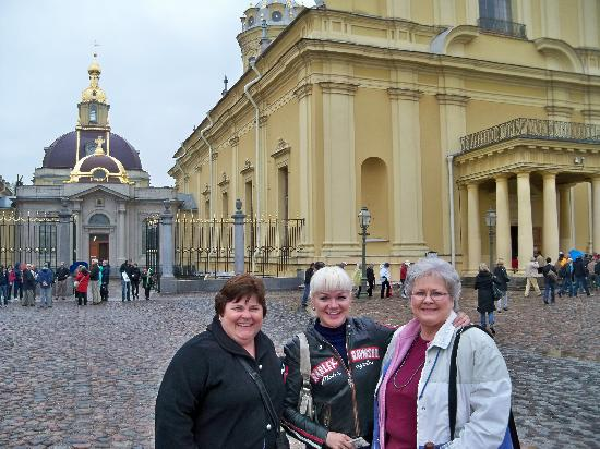 ULKOtours: With Diana our guide (Center) - Sts Peter & Paul Fortress