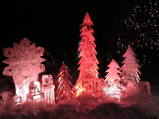 Denver Botanic Gardens: Ice Sculptures