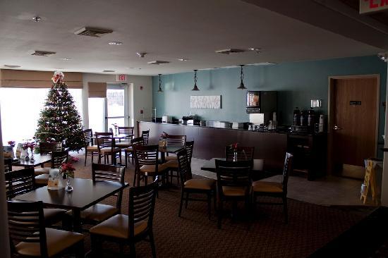 Sleep Inn And Suites: Breakfast Room