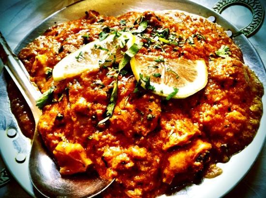 Maharajah: Chicken tikka masala