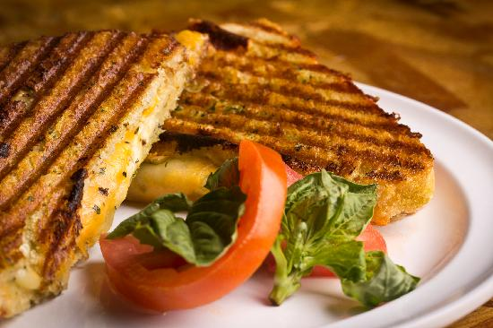 MIX on the Square: Triple Cheese Grilled Cheese