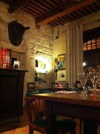 Le Galoubet: the nice atmosphere inside