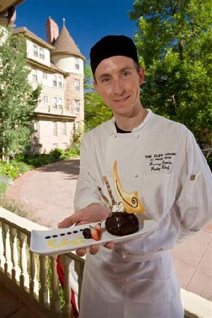 The Cliff House at Pikes Peak: Pastry Chef Jeremy Garcia