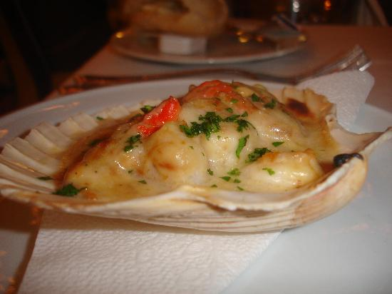 La Bocaina: prawns mornay