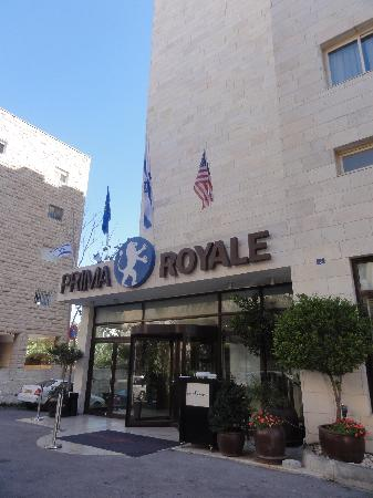 Hotel Prima Royale: The Hotel in the morning