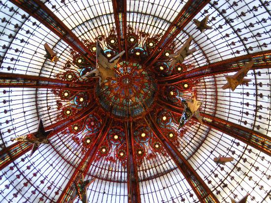 Etalage foto van galeries lafayette haussmann parijs tripadvisor - Verriere externe ...