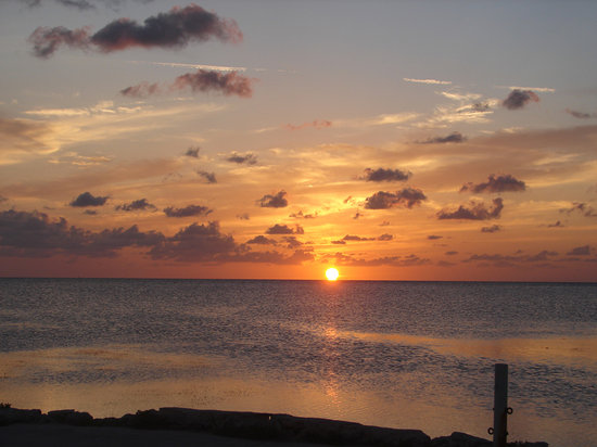 Fiesta Key RV Resort & Marina : Beautiful Florida Keys Sunset