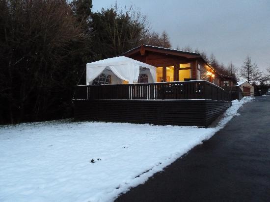 Longnor Wood Holiday Park: Hawthorne Lodge