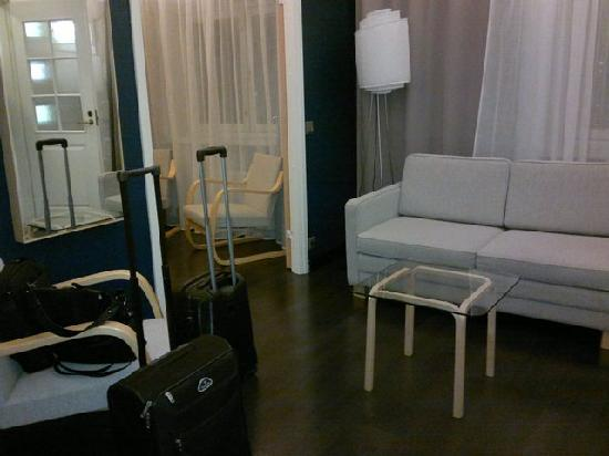 Hotel Helka: Entry hall / Living room