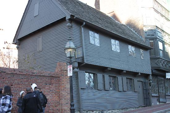 The Paul Revere House: vista dalla strada