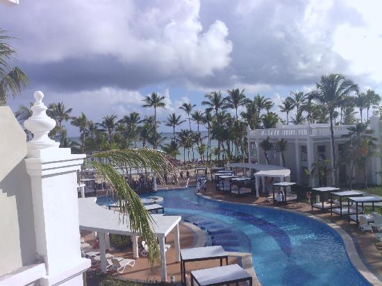 Hotel Riu Palace Bavaro: View from my balcony in the VIP Villas