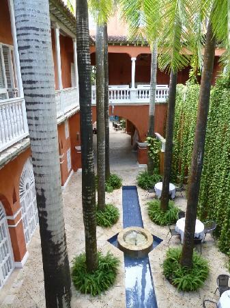 Casa Pestagua Hotel Boutique, Spa : Courtyard