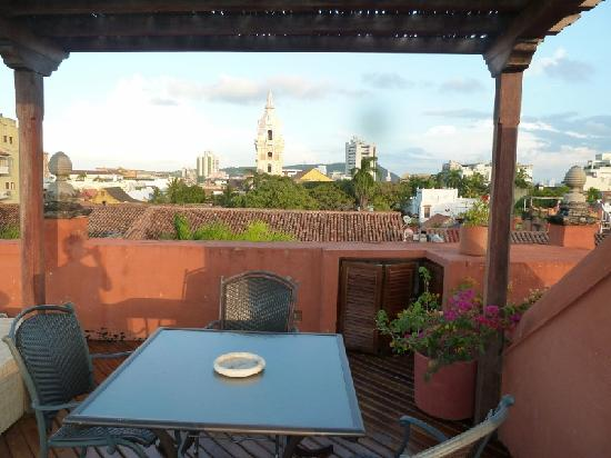 Casa Pestagua Hotel Boutique, Spa: Views from the top