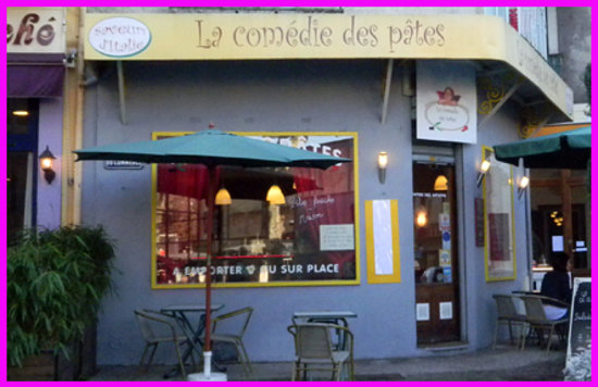 La comedie de pates aix les bains restaurant avis - Restaurant la folie des grandeurs aix les bains ...