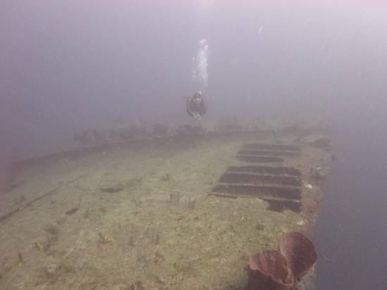 Diving the ship 39 s swimming pool on bianca c picture of - Did the titanic have swimming pools ...