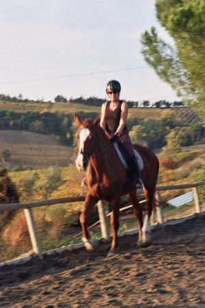 Il Paretaio: Riding Zara