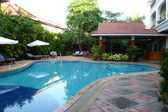 Angkor Way Boutique Hotel: The pool