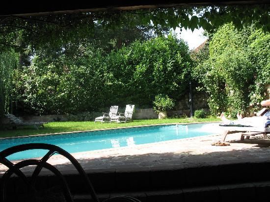 Peche de Vigne: heerlijk (prive) zwembad
