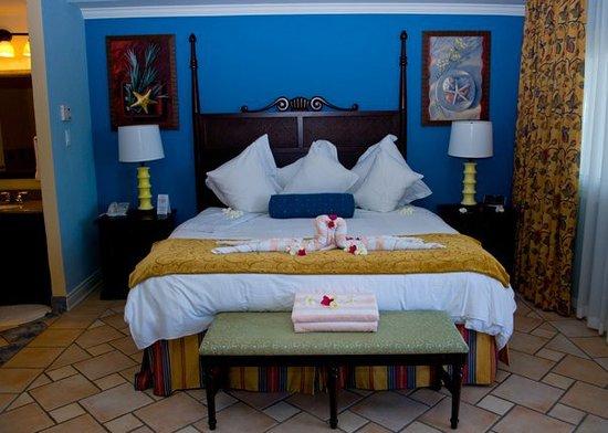 St. Kitts Marriott Resort & The Royal Beach Casino: Master bedroom