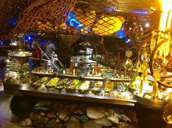 Marius Degustare: Gish buffet, looks nice, tastes good, but mind the price...