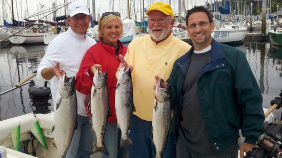 Salmon fishing in the Humptulips River - Review of All