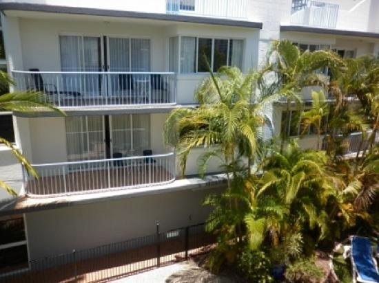 Beachside Mooloolaba Sunshine Coast: balcony view