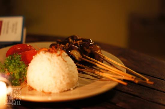 بارونج ريزورت آند سبا: Supper from room service - not recommended