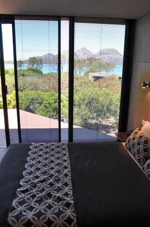 Edge of the Bay Resort: view from the bed