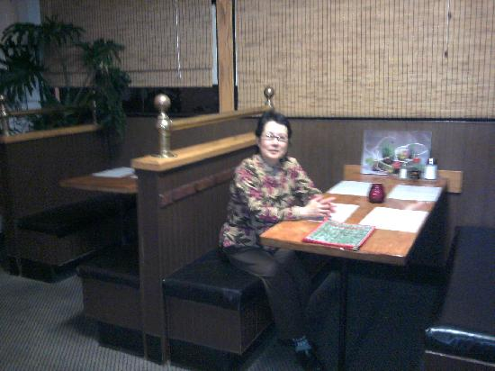 Midori Japanese & Korean Restaurant: Owner Lioba.