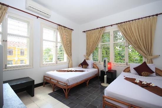 Frangipani Villa-60s Hotel: Deluxe Twin Room