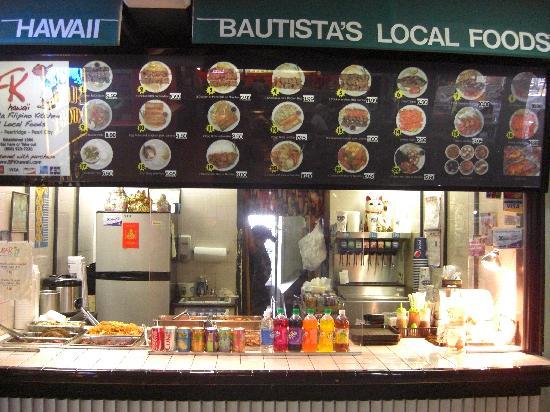 Bautista's Filipino Kitchen: フィリピン料理メニュー