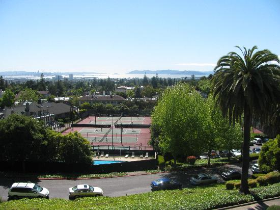 Claremont 39 S Tennis Courts And Swimming Pool Picture Of Claremont Club Spa A Fairmont Hotel