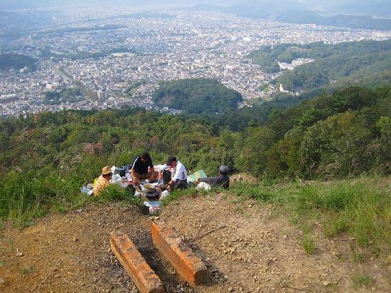 Daimonjiyama : 大文字火床からの眺め